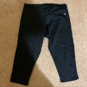 Hurley X Nike Dri-Fit Capri leggings